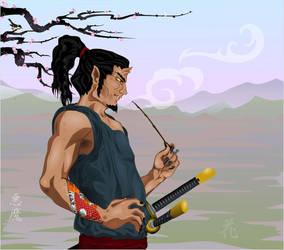 Akuma's Spring by broom-rider