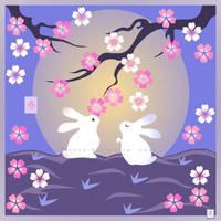 Spring Moon by broom-rider