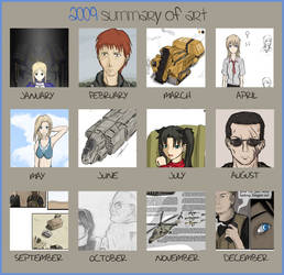 Year in Review, 2009 by Csp499