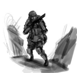 General Infantryman by Csp499