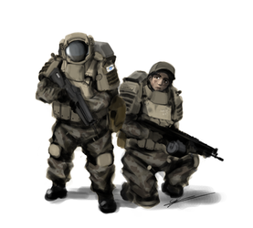 Ground Pounders by Csp499