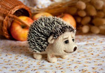 hedgehog by znmystery