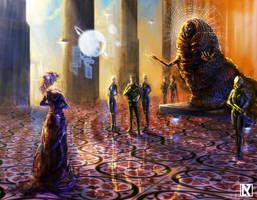 Meeting the Emperor by NicholasKay