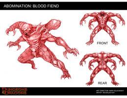 Blood Fiend by NicholasKay