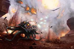 War in Heaven by NicholasKay