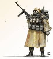 War is Hell by NicholasKay