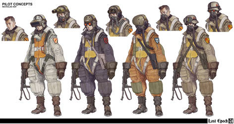 Lost Epoch: Pilot Concepts by NicholasKay