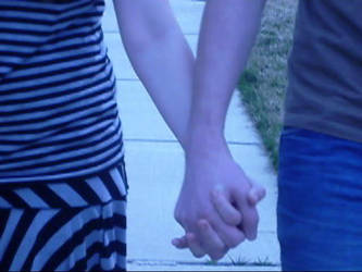 Holding Hands by biancolorimaging