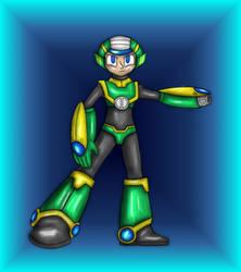 Megaman OC: Tempo by Ashura01