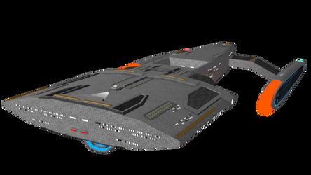 Federation Starship-WIP by Ashura01