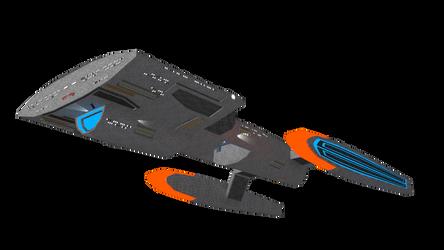 Federation Starship-WIP2 by Ashura01
