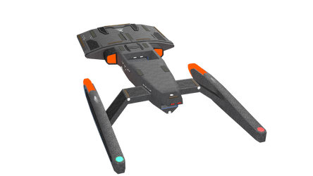 Federation Starship-WIP3 by Ashura01