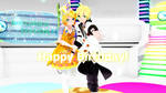Gee: Happy Birthday My Little Kagamines!!! by Angela-16
