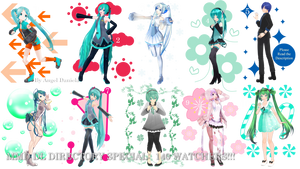 MMD DL Directory 13 Special [+ Pose Pack DL] by Angela-16