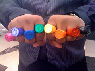 Lantern Rings of power by shadow629