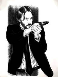 john Wick by AldoRaine13