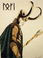 Loki by LilyLucius