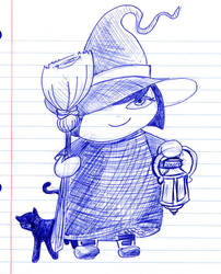 Halloween Doodle 20091026 by dashersher