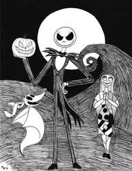 Toontober Day 31 - Happy Halloween by ToonSkribblez