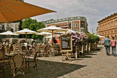 summer cafe by SMihalich