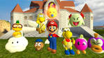 Paper Mario N64 Partners by Xrayleader