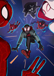 Into the Spideyverse by inchells1