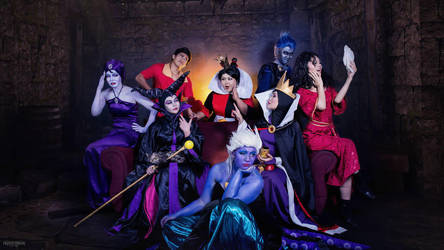 Disney Villains not so villainy by Amethyst-Team