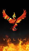Valor wallpaper by Stormynitezart