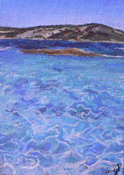 Cowrie Bay by princessbuttons