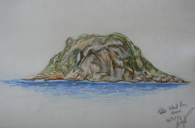 Table Island as seen from Nares by princessbuttons