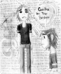 2D for Gorillaz by StelmariaonE7