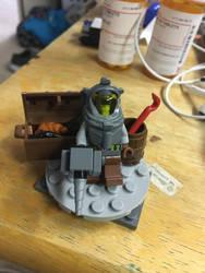 My lego bioshock 2 diorama  by jacamontronic