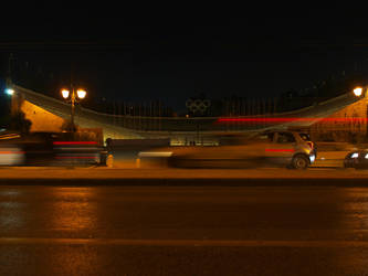 Olympic Stadium by PainkillerOnsetDose