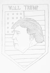 Wall Trump by starexx