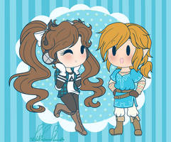 .: AT: Link + Lumia :. by PinkPrincessBlossom