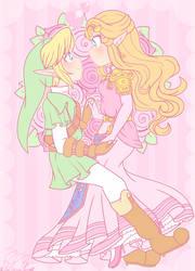 .: Zelda's My Princess :. by PinkPrincessBlossom
