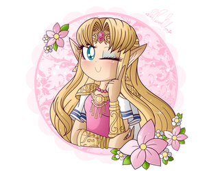 .: SSBU: Princess Zelda :. by PinkPrincessBlossom