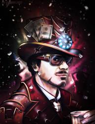 Its good to be Tony Stark by VoydKessler