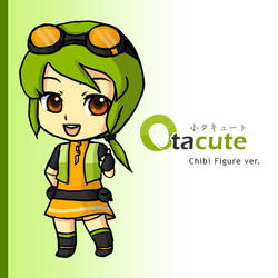 Otacute Mascot: Nendoroid Ver. by areautena