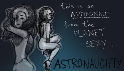 Astronaughty by areautena
