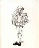 Vanja in a school uniform by HikariLleonie