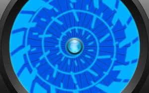 Spiral Wallpaper-Apple by technokoopa