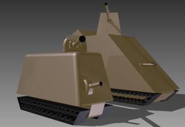 RMX-40 and RMX-54 Mk I (Prototype) by wheeled-tank
