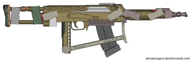 'Sweeper' Makeshif Compact AR by wheeled-tank