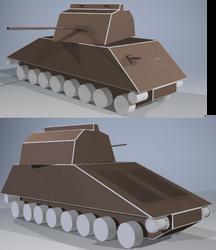 RMX-54 Mk III Model D WiP II by wheeled-tank