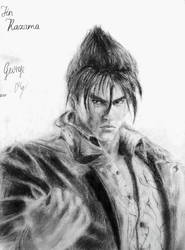 Jin Kazama drawing by George Pg by GeorgePg