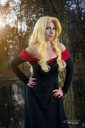 Odile Cosplay - The Swan Princess by LadyDaniela89