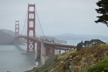 Golden Gate Bridge by linqk57