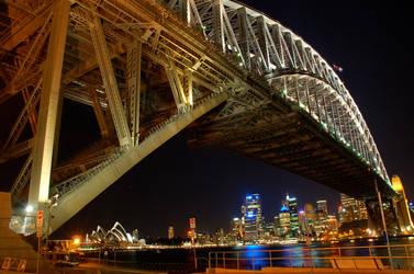 Sydney Harbour Bridge by cjmcblonde