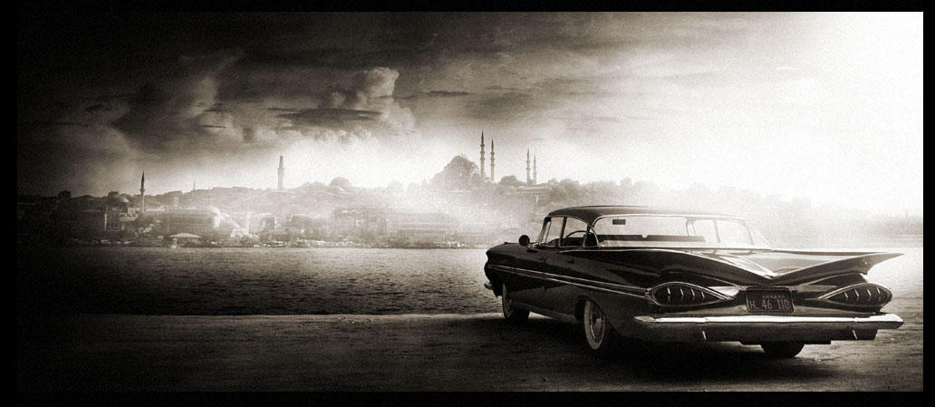 Impala in Istanbul 1961 by ugurerbas